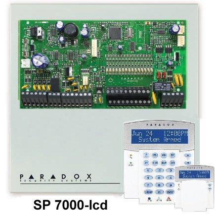 контролен панел за сигнално охранителни системи